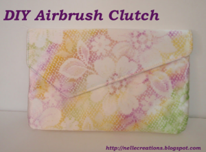 DIY :: Airbrush Clutch