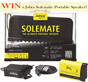 Jabra Solemate Review & Giveaway!