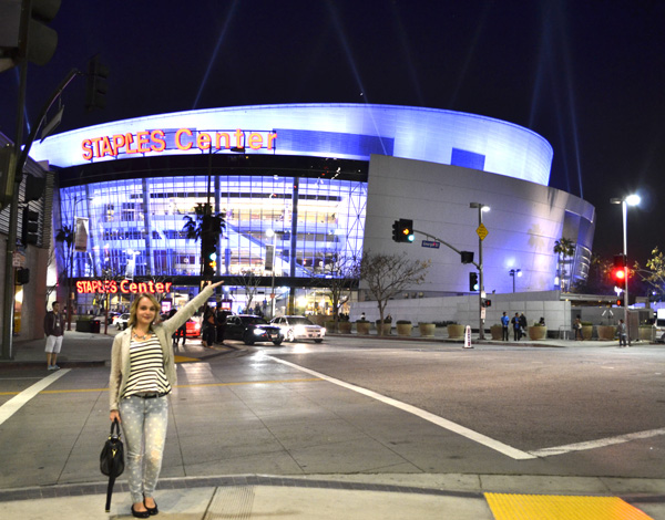 Travels :: Los Angeles Lakers and Walk of Fame