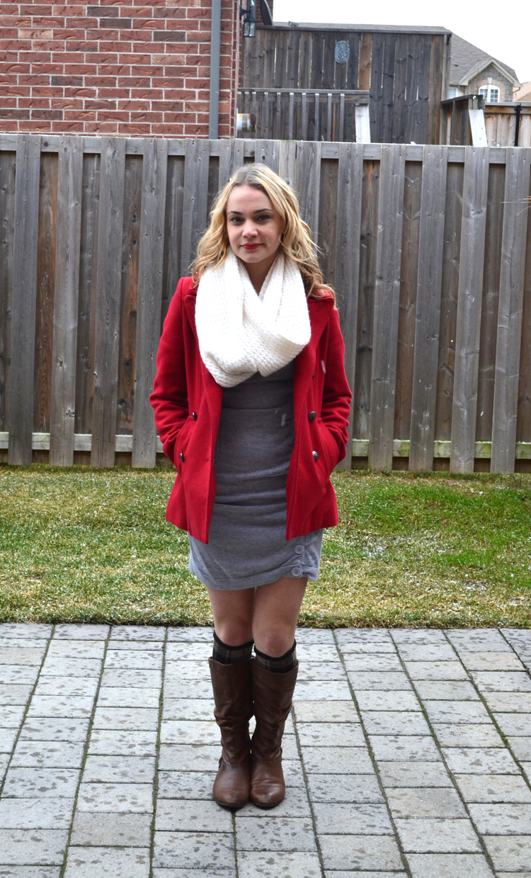 Fashion style How to knee wear highs with boots for woman