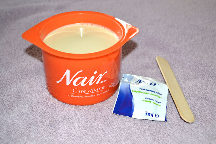 Nair Cire Divine at-home wax kit, Nair Cire Divine review, summer hair removal, how to remove hair for summer, summer waxing, nair waxing review