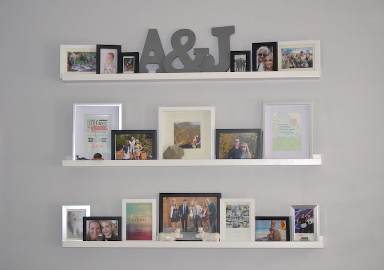 diy photo wall, photo collage wall, how to arrange photos, photo frame arrangement
