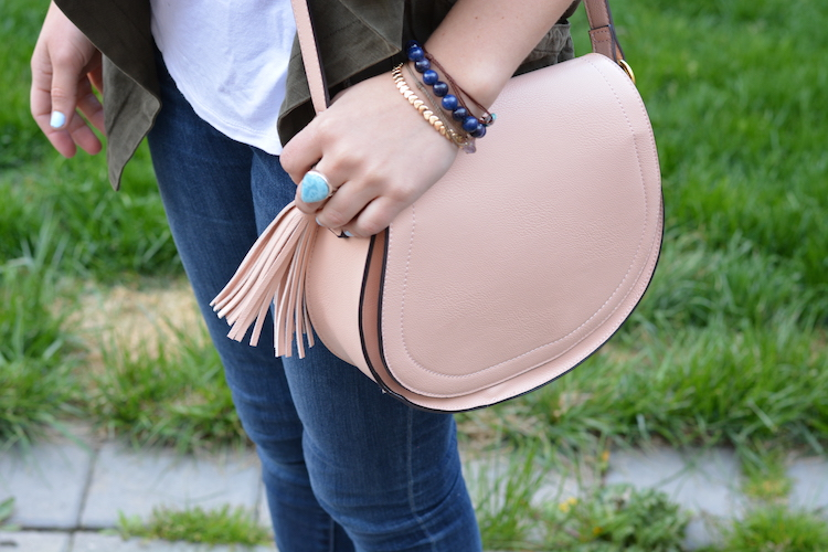 Pink Tassel Bag Old Navy