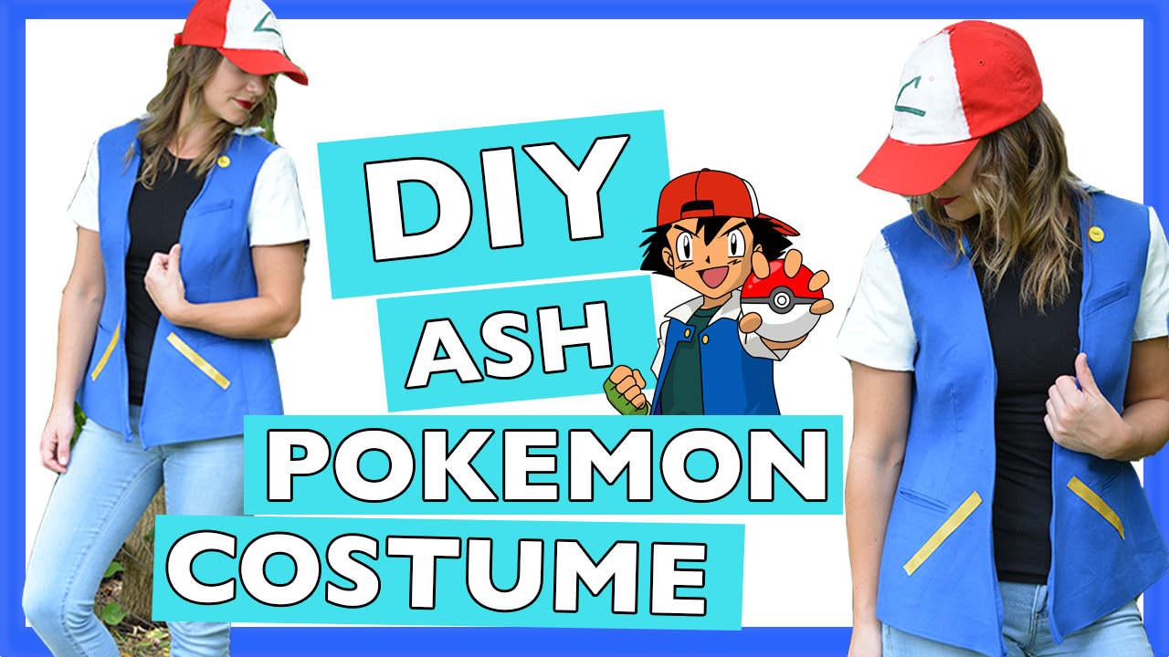 DIY Ash Pokemon Jacket