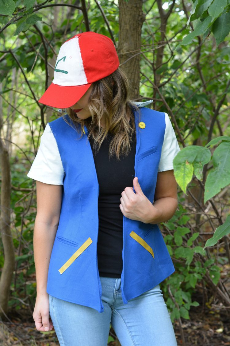 DIY Ash Pokemon Jacket for Halloween