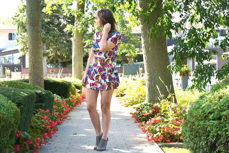 Fall Boots with Summer Dresses