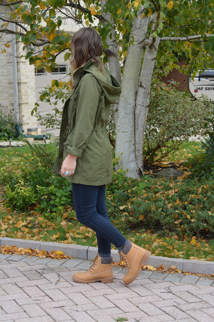 Utility Boots Outfit, Women Work Boots Outfit, Styling Brown Boots