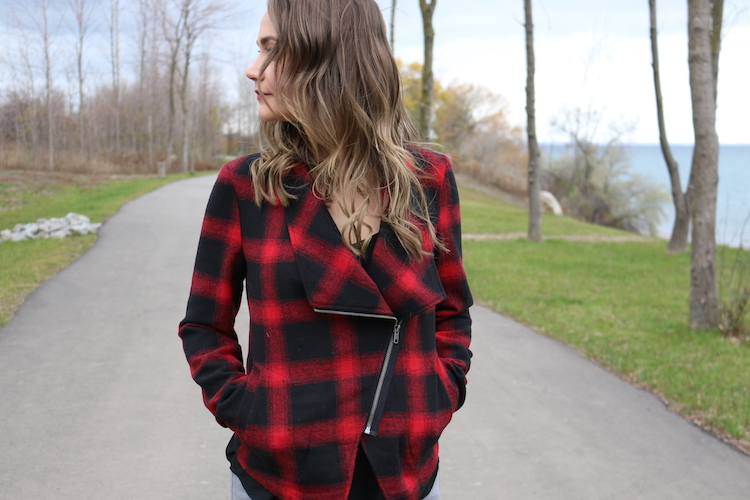 Red Plaid Jacket
