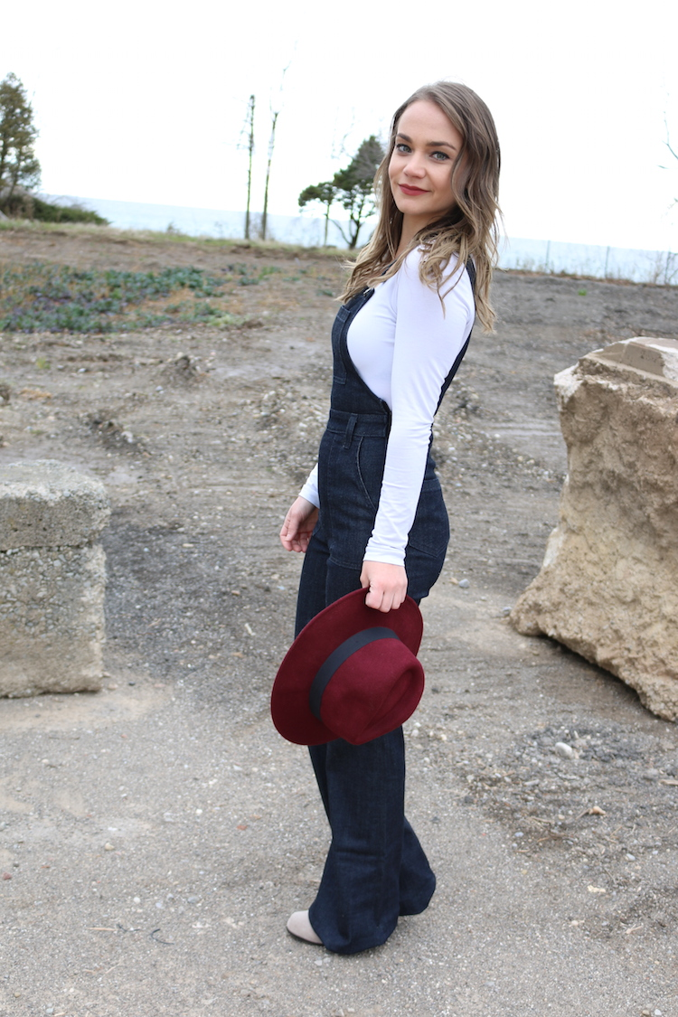 Best Fitted Overalls Flare Bottom | AG Jeans