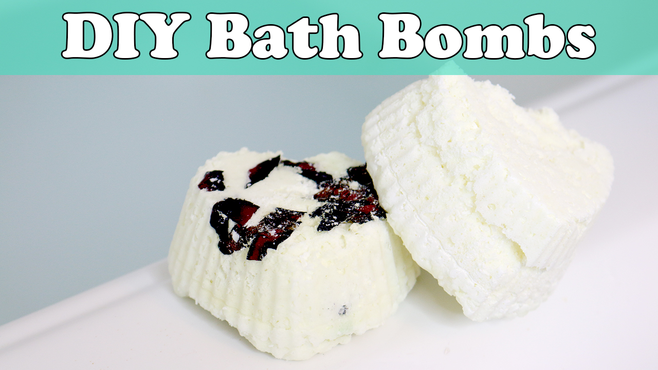 DIY No Citric Acid Bath Bombs
