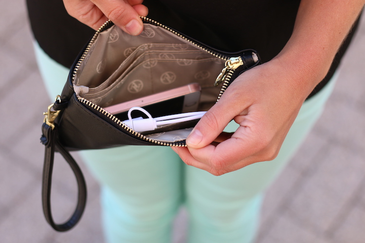 Cell Charging Purse