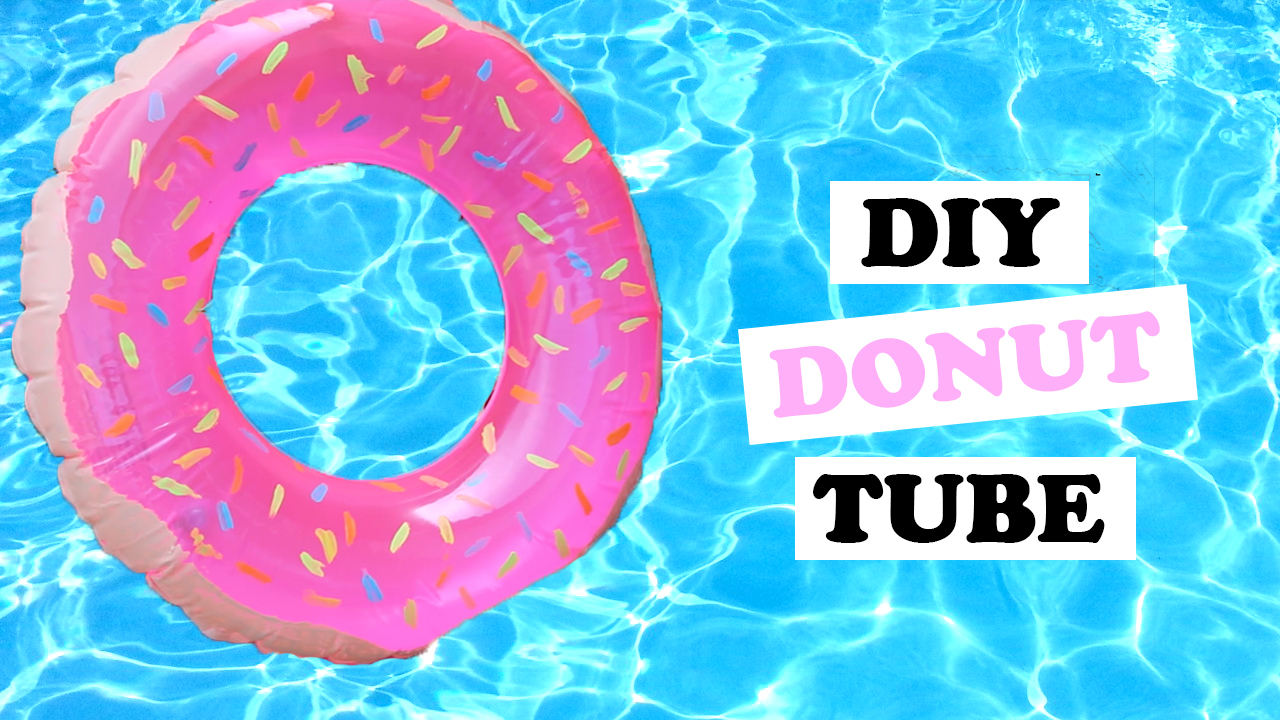 DIY Donut Pool Float