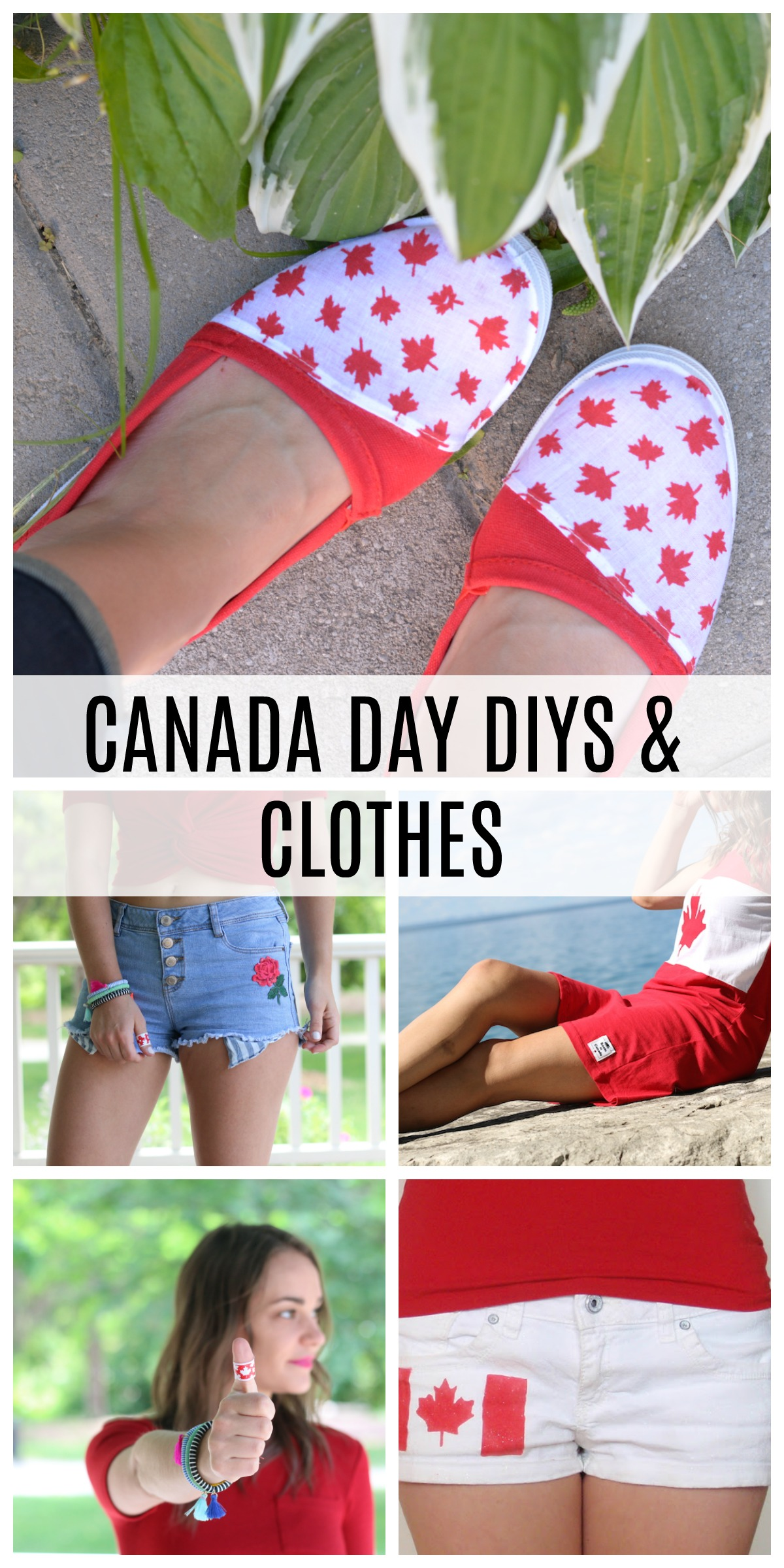 CANADA DAY OUTFIT AND DIY IDEAS