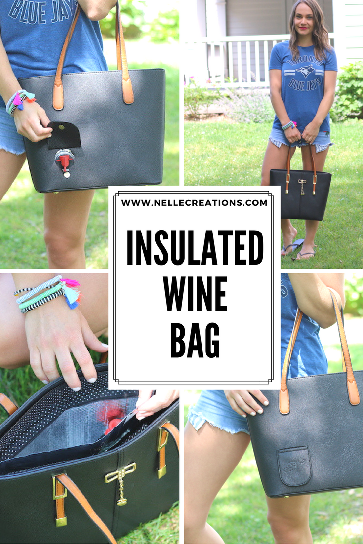 Dispensing Insulated Wine Bag