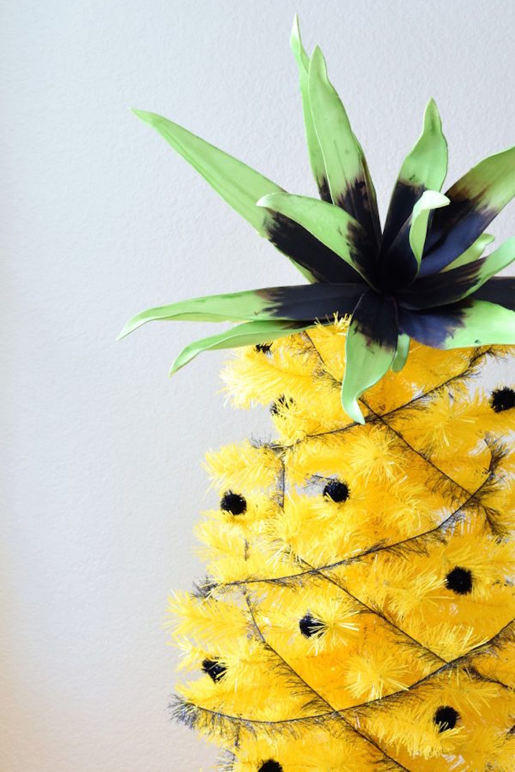 DIY Pineapple Decor Ideas Crafts