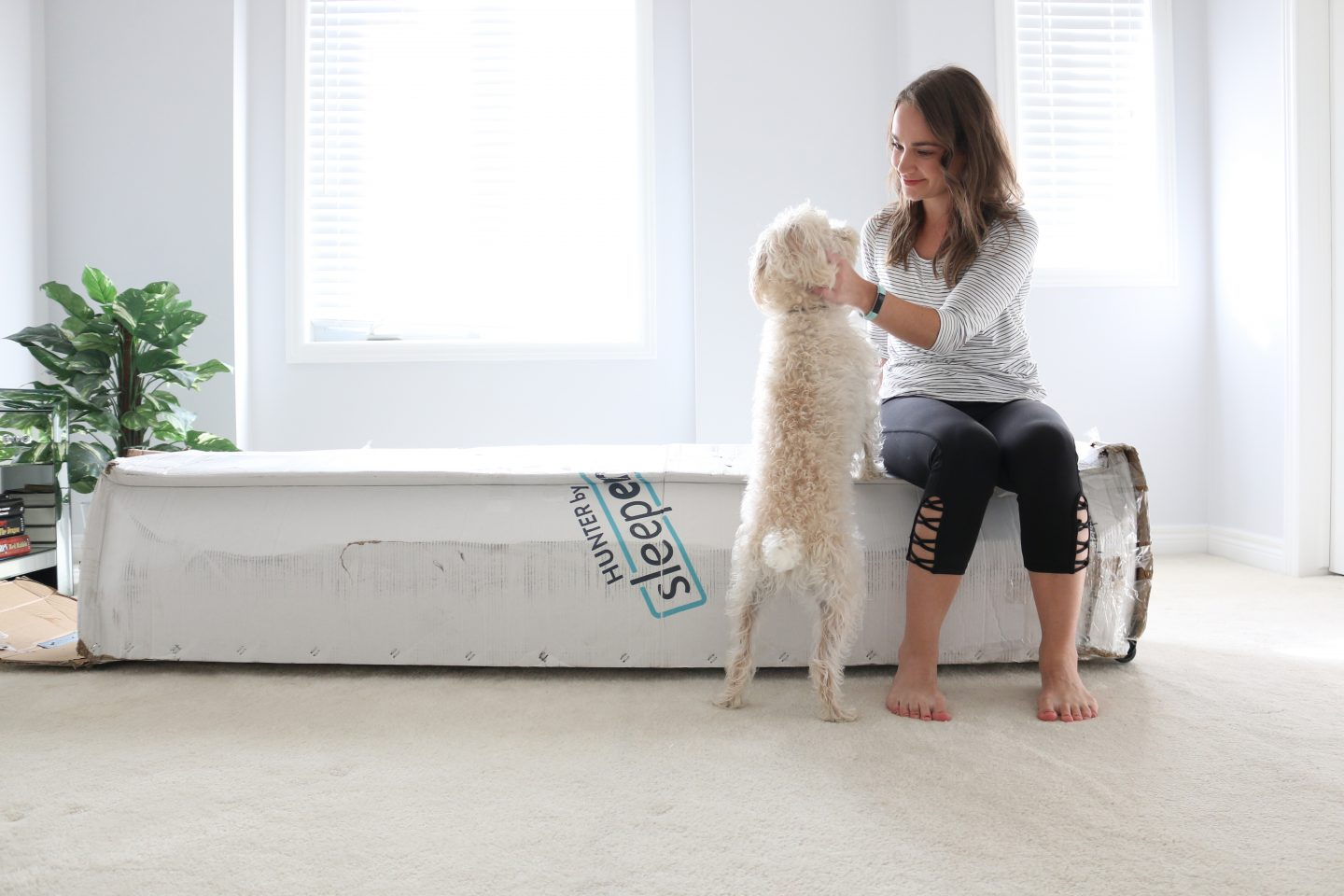 Mattress Unboxing with Sleepenvie + Sleeping Tips