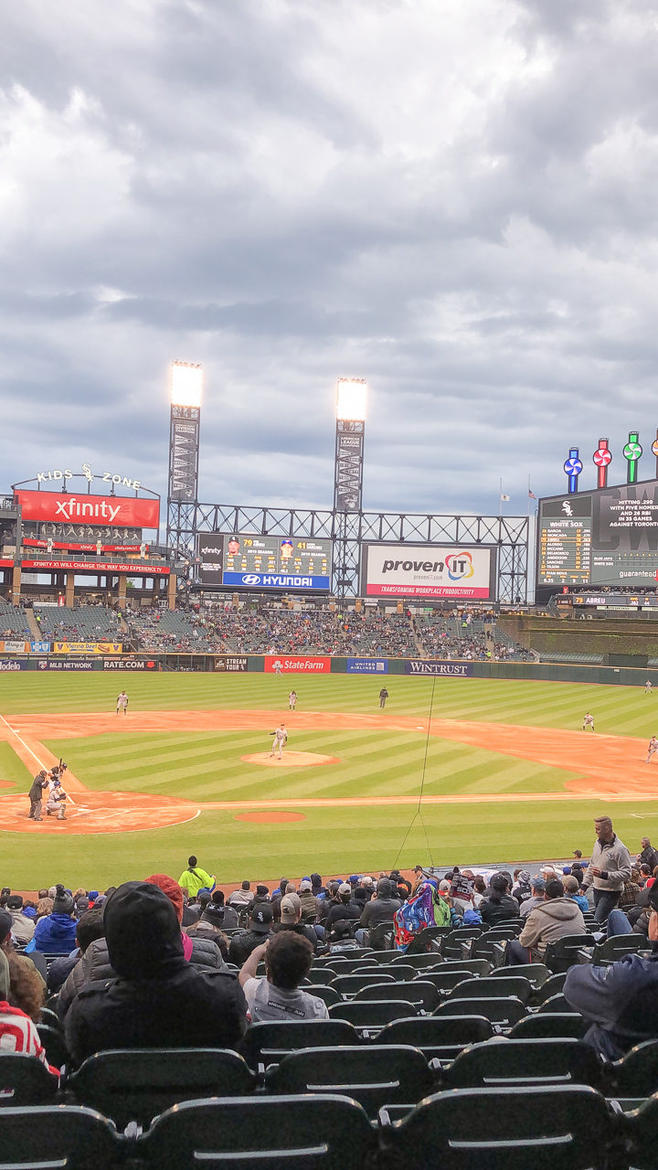 Guaranteed Rate Field Baseball Chicago White Sox