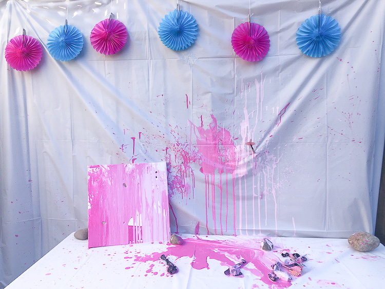 Creative Gender Reveal Idea