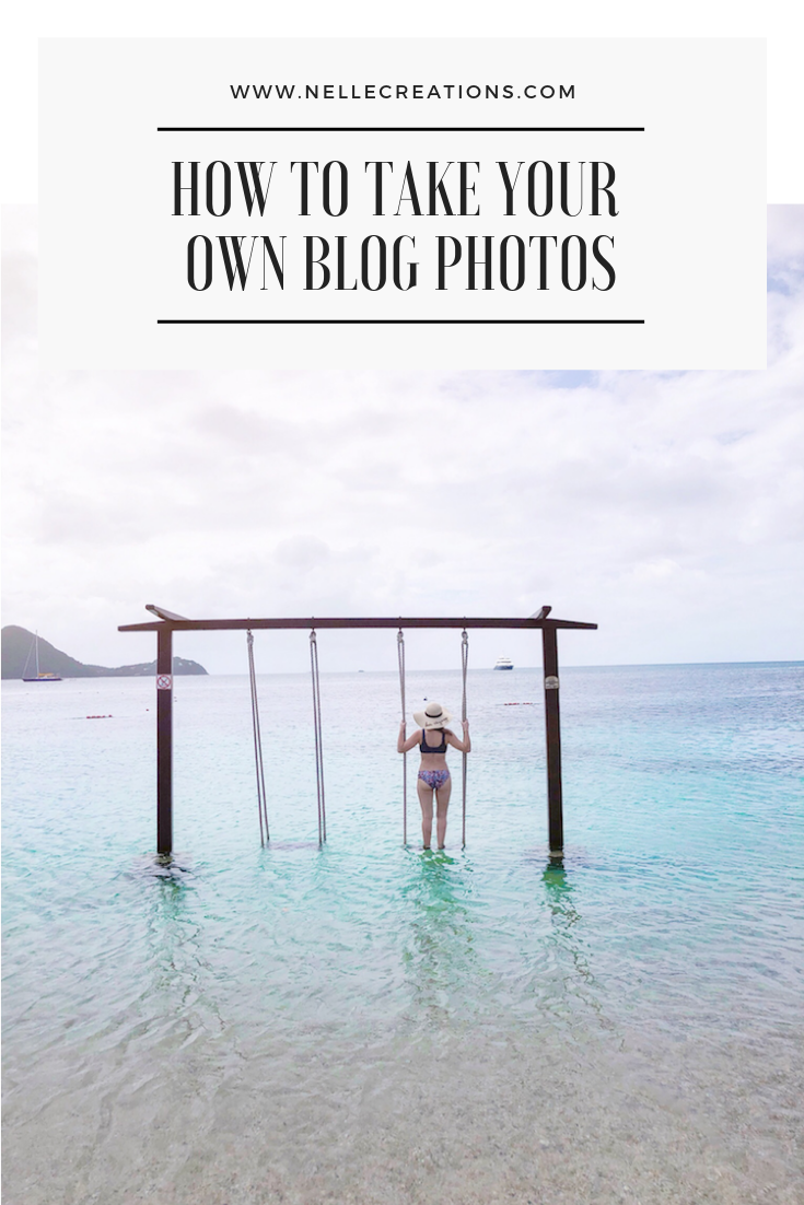 How to Take Your Own Blog Photos